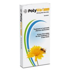PolyVar Yellow 275mg Bee-Hive Strips