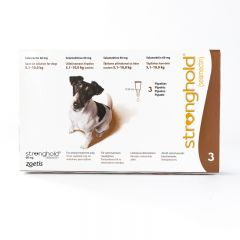 Stronghold 60mg Spot-On for Small Dogs (weighing 5.1 - 10kg)