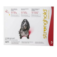 Stronghold 120mg Spot-On for Medium Dogs (weighing 10.1 - 20kg)