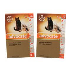 Advocate 40 Spot-On for Small Cats (up to 4kg) and Ferrets