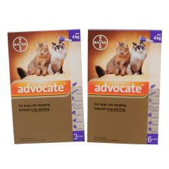 Advocate 80 Spot-On for Large Cats (weighing 4 - 8kg)