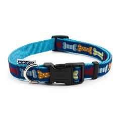 Ancol Blue Bone Collar