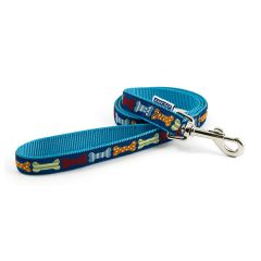 Ancol Blue Bone Lead (19mm) 190cm