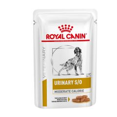 Royal Canin Canine Urinary S/O Moderate Calorie Thin Slices in Gravy Adult Wet 48x100g pouch
