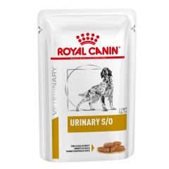 Royal Canin Canine Urinary S/O Thin Slices in Gravy Adult Wet 48x100g pouch