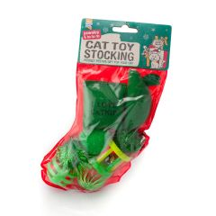 Good Girl Cat Toy Stocking