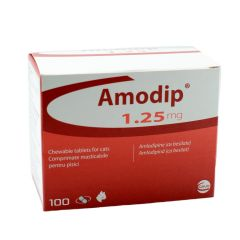 Amodip Chewable 1.25mg Tablet for Cats