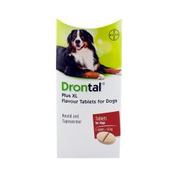 Drontal Plus XL Flavour Dog Worming Tablet