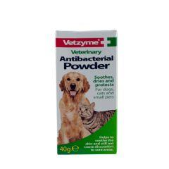 Vetzyme Antibacterial Powder 40g