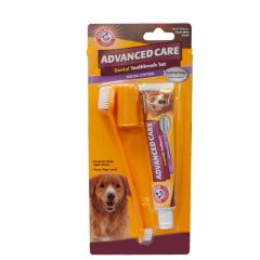 Arm & Hammer Advanced Pet Care Toothpaste & Brush Set - Tartar Control