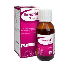 Emeprid 1mg/ml Oral Solution for Dogs and Cats - 125ml