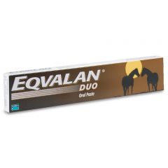 Eqvalan Duo Horse Wormer - Single Syringe