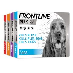 Frontline Plus Spot On for Dogs
