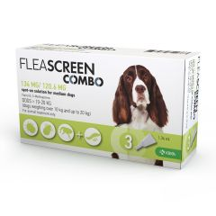 Fleascreen Combo Spot-on Solution Dogs