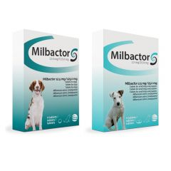 Milbactor Tablets for Dogs