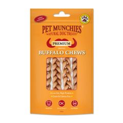 Pet Munchies Buffalo Dental Chews 4x55g (small)