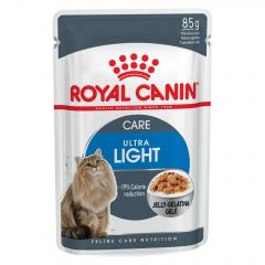 Royal Canin Feline Care Nutrition Ultra Light Wet Pouches 12x85g