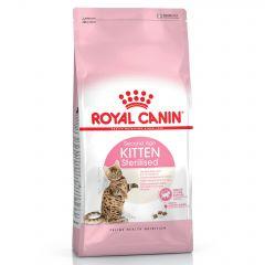 Royal Canin Feline Health Nutrition Sterilised Kitten Dry Food 2kg