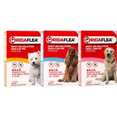 Ridaflea Spot-On Solution for Dogs