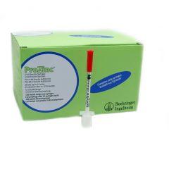 ProZinc 0.3ml U40 Insulin Syringes Pack of 120