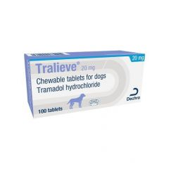 Tralieve Chewable Tablets for Dogs - Priced per Tablet - 20mg