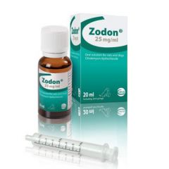 Zodon 25 mg/ml Oral Solution for Cats and Dogs 20ml