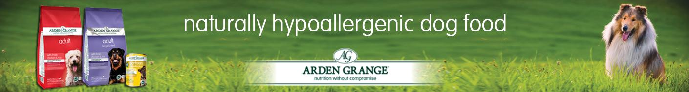 Arden Grange Dog food naturally hypoallergenic