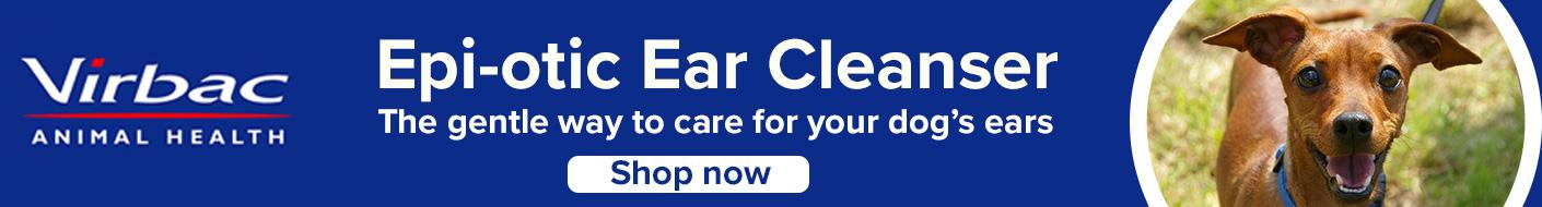 Epi-otic ear cleaner from Virbac