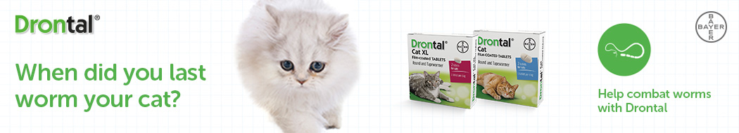 Drontal Cat wormers