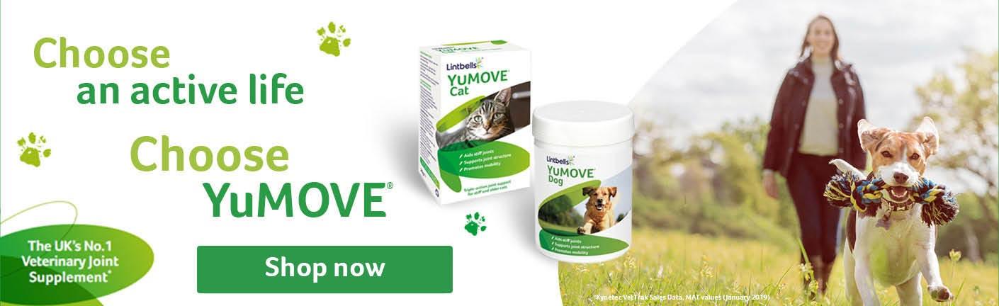 Keep your dog moving with YuMOVE