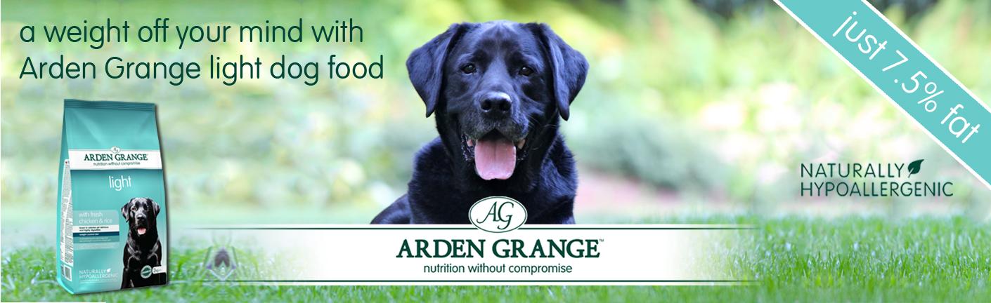 Arden Grange light dog food