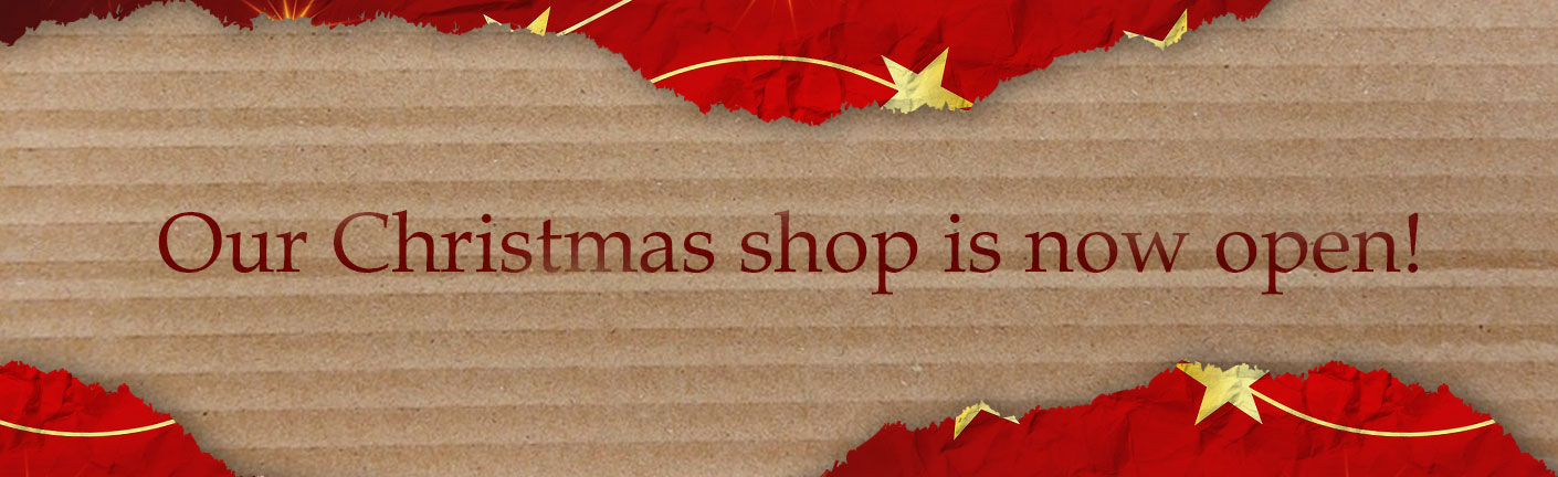 Our Christmas shop is now open!