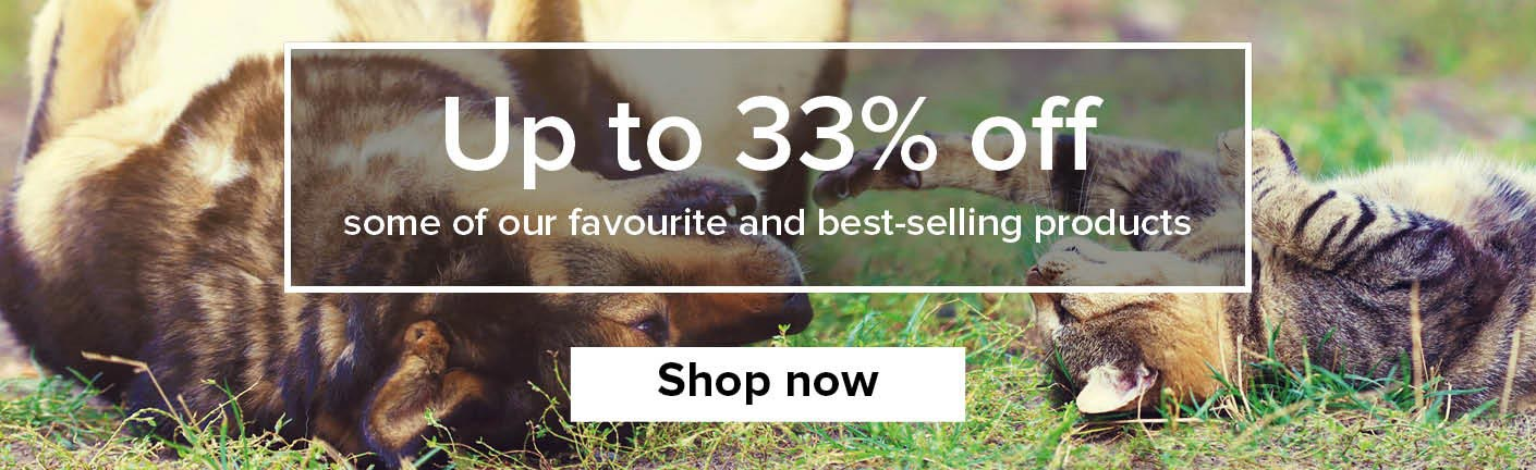 Up to 33% off this May
