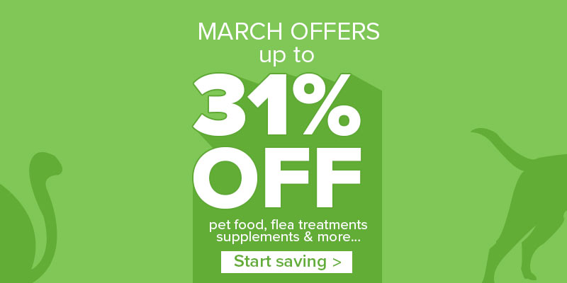 Up to 31% off selected products this March