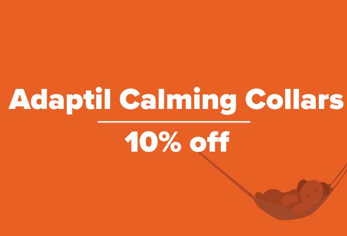 10% off Adaptil Calming Collars