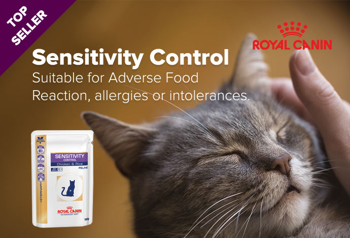 Royal Canin Sensitivity Control food for cats