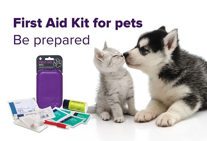 Travel First Aid Kit for Cats and Dogs