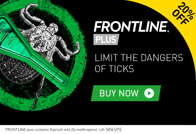 Frontline Plus 20% Off Limit The Dangers Of Ticks
