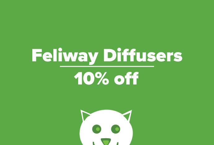 Feliway Diffusers 10% off