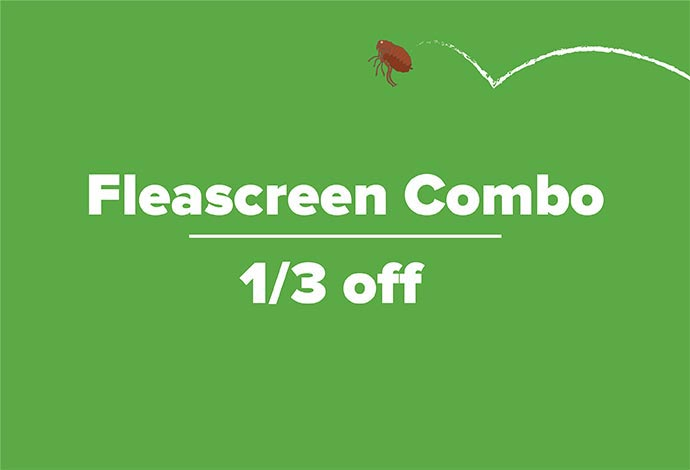 One Third off Fleascreen Combo