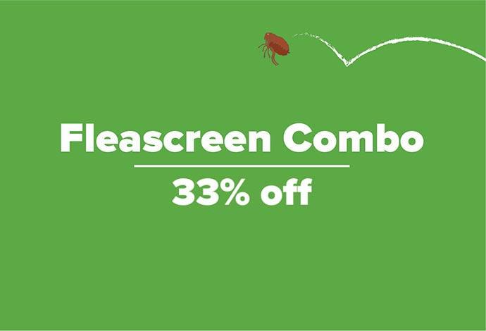 33% off Fleascreen Combo