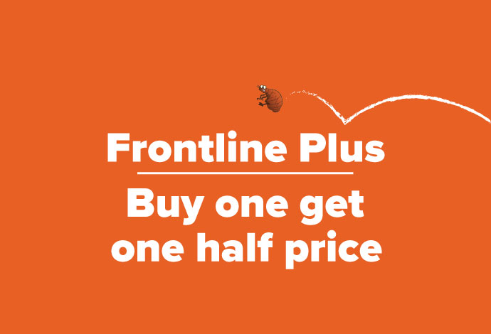 Frontline Plus Buy One Get One Half Price