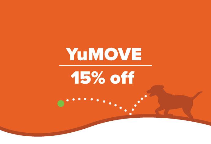 YuMOVE 15% off