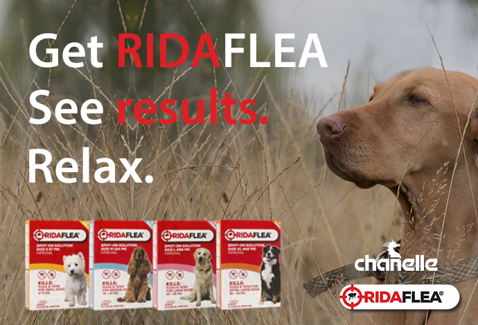 RidaFlea Spot-On for dogs