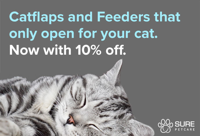 SurePetCare: Feeders and Catflaps that only open for your cat